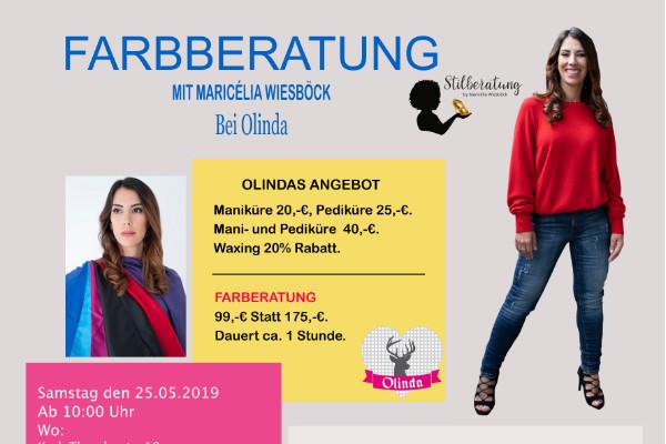 Farbberatung mit Maricélia Wiesböck